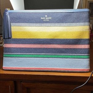 Large tassel pouch Kate spade, multi color